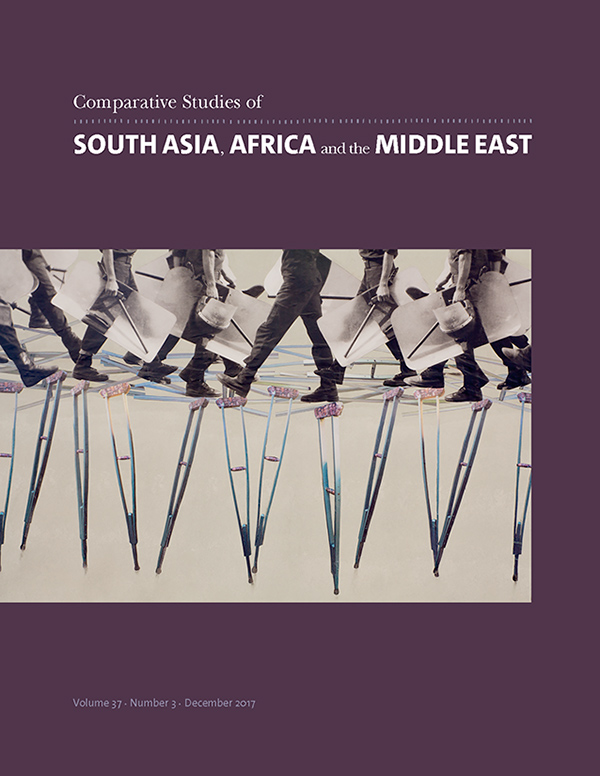 Comparative Studies of South Asia, Africa and the Middle East 37:3373