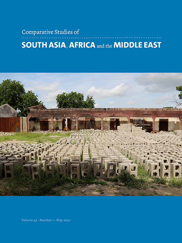 Comparative Studies of South Asia, Africa and the Middle East