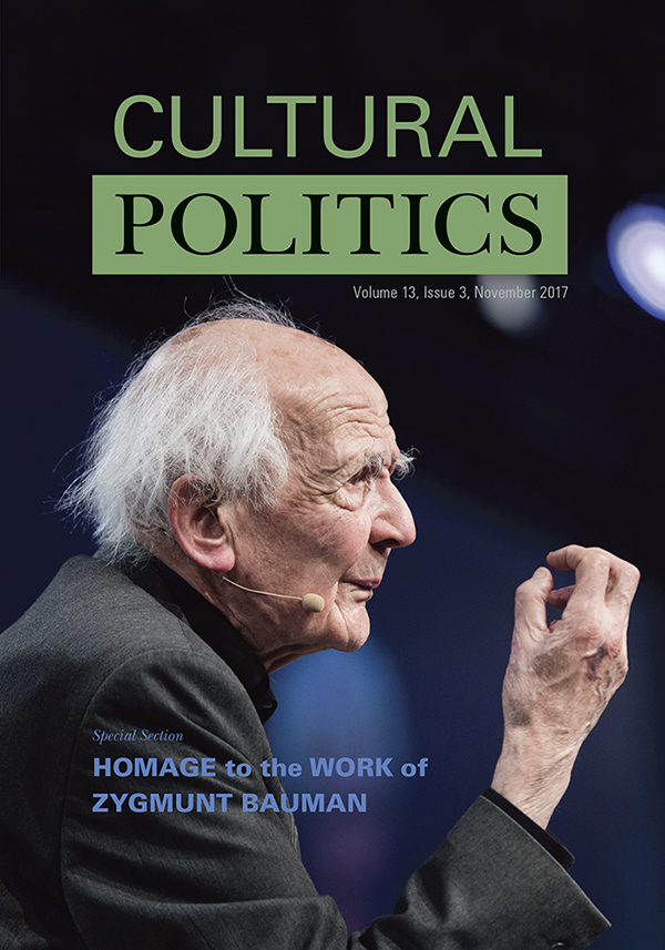 Homage to the Work of Zygmunt Bauman133