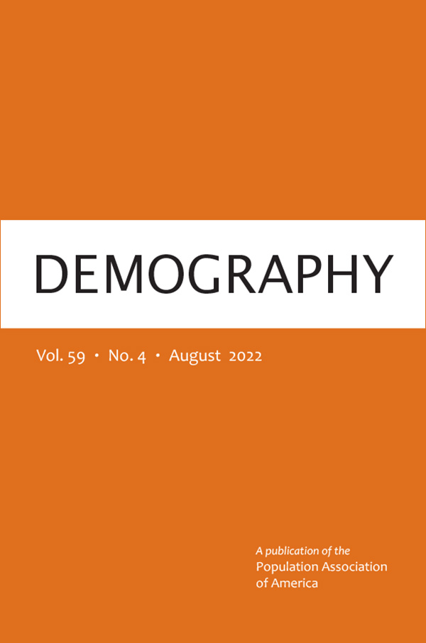 Cover of Demography