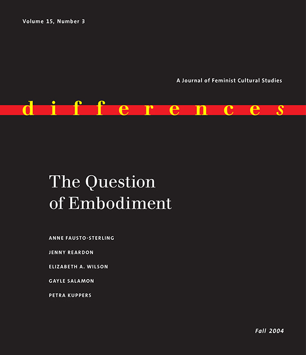 The Question of Embodiment153