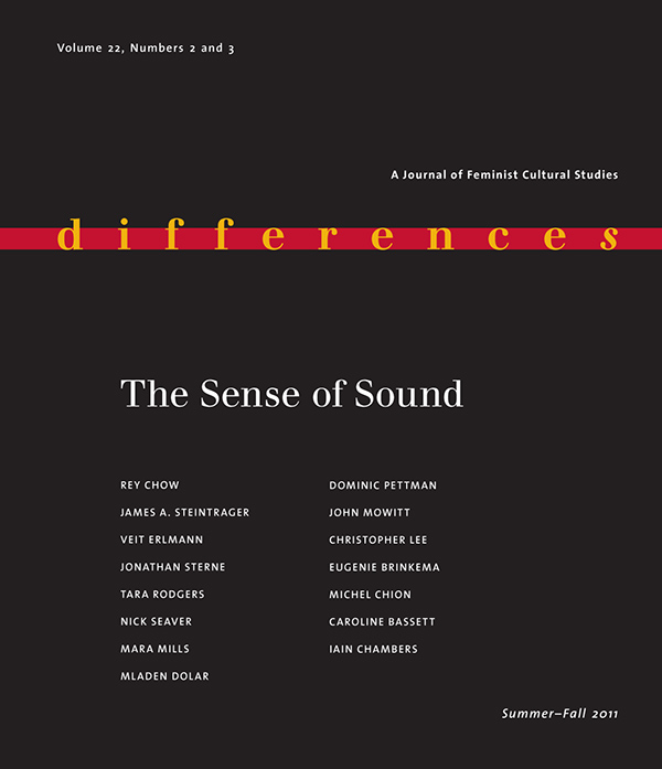 The Sense of Sound222-3