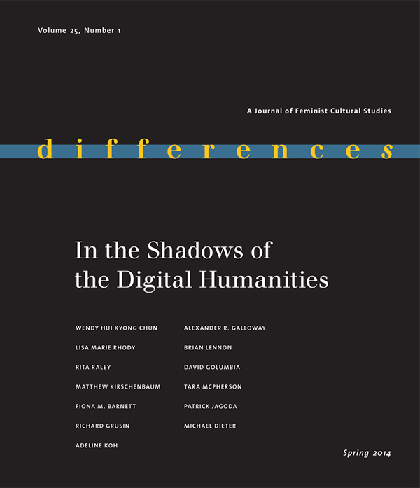 In the Shadows of the Digital Humanities251