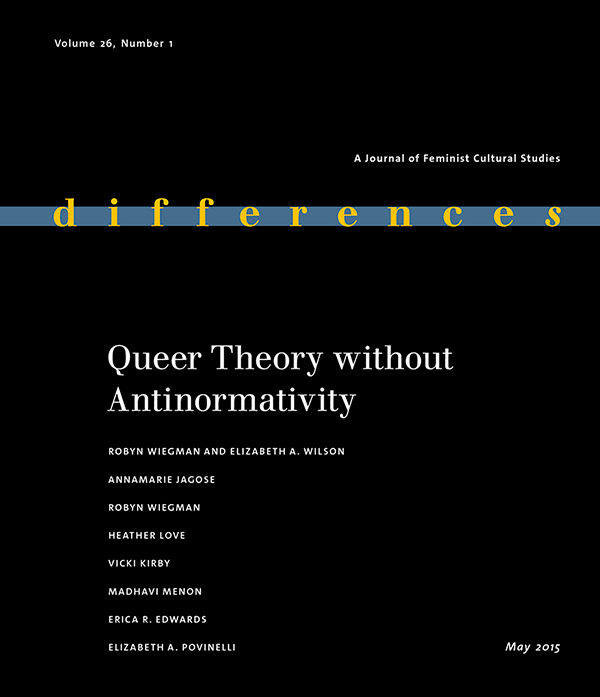 Queer Theory without Antinormativity261