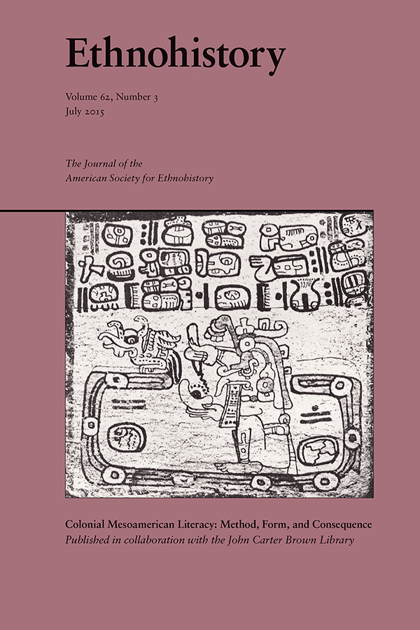 Colonial Mesoamerican Literacy: Method, Form, and Consequence
