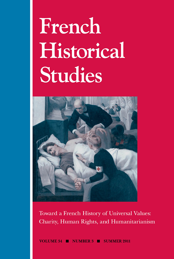 Towards a French History of Universal Values