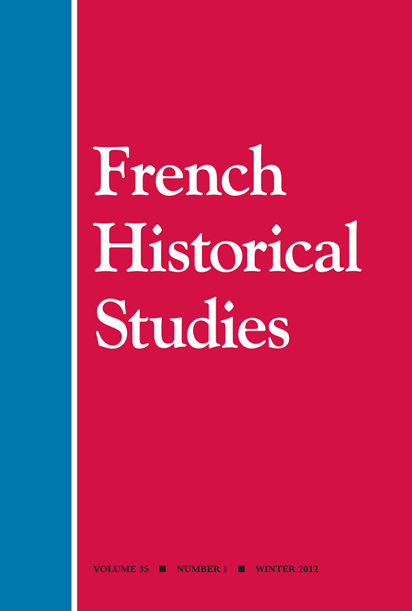 French Historical Studies 35:1