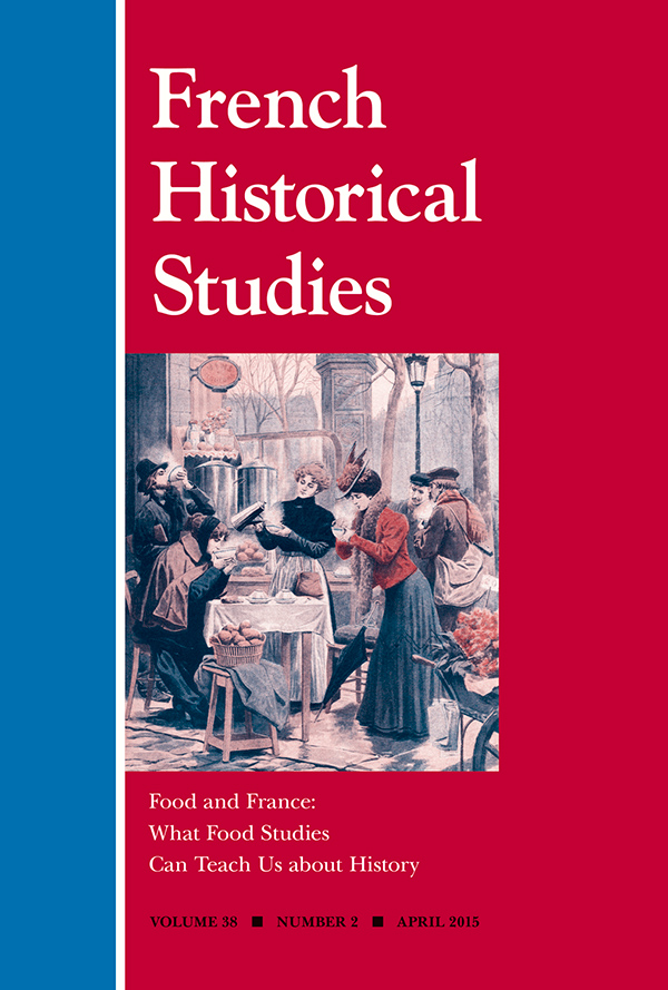 Food and France: What Food Studies Can Teach Us about History382