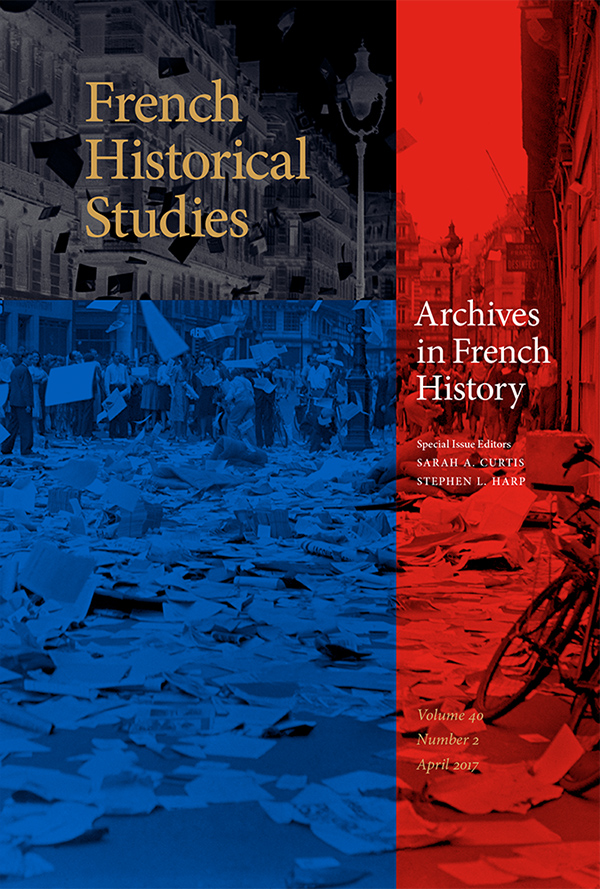 Archives in French History402