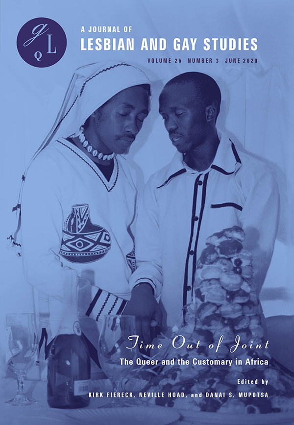 Time out of Joint: the Queer and the Customary in Africa263