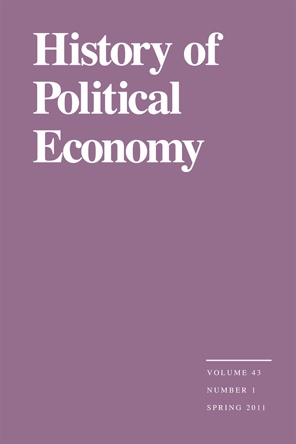 Intellectual Communities in the History of Economics