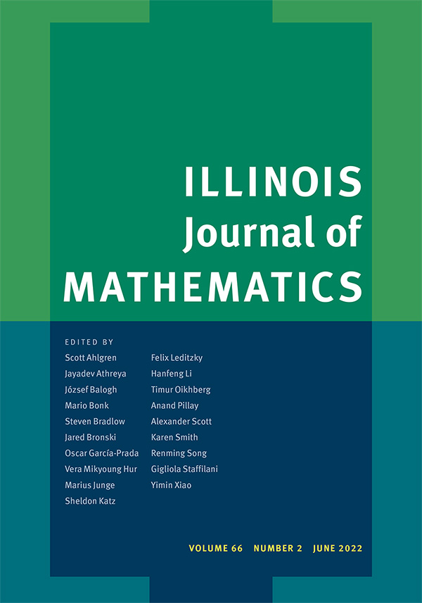 Illinois Journal of Mathematics
