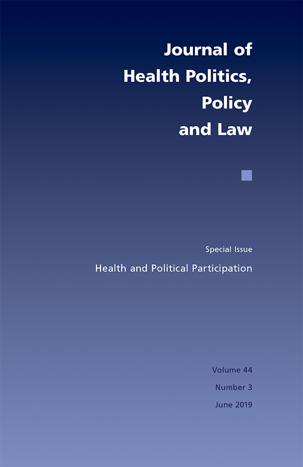 Health and Political Participation