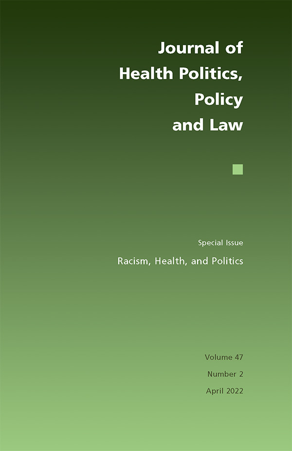 Journal of Health Politics, Policy and Law - Featured Journals