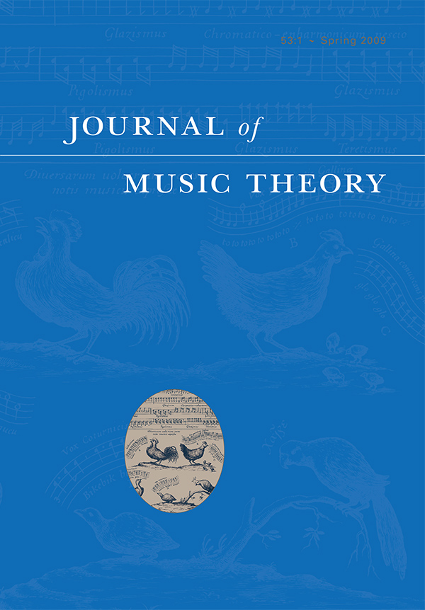 Journal of Music Theory 53:1