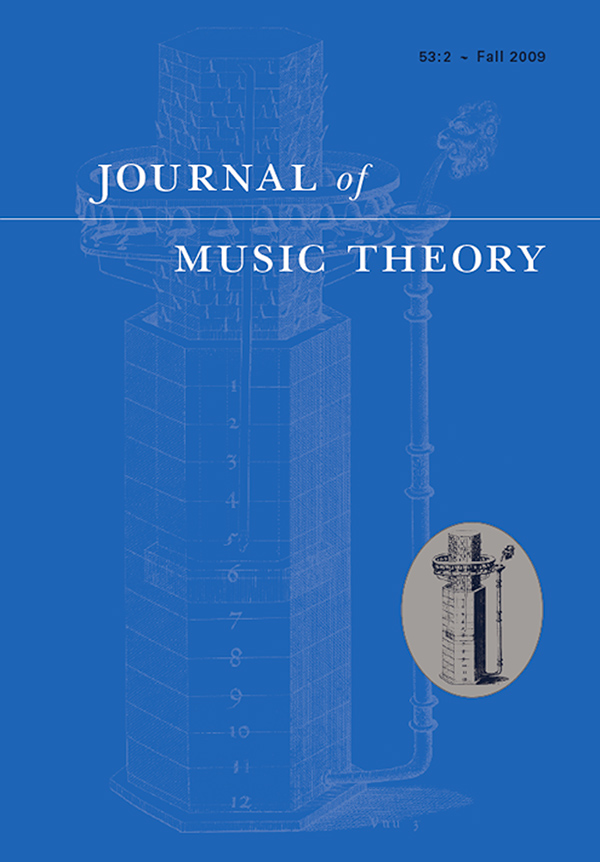 Journal of Music Theory 53:2
