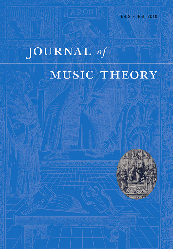 Journal of Music Theory 54:2