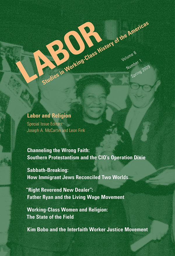 Labor and Religion61