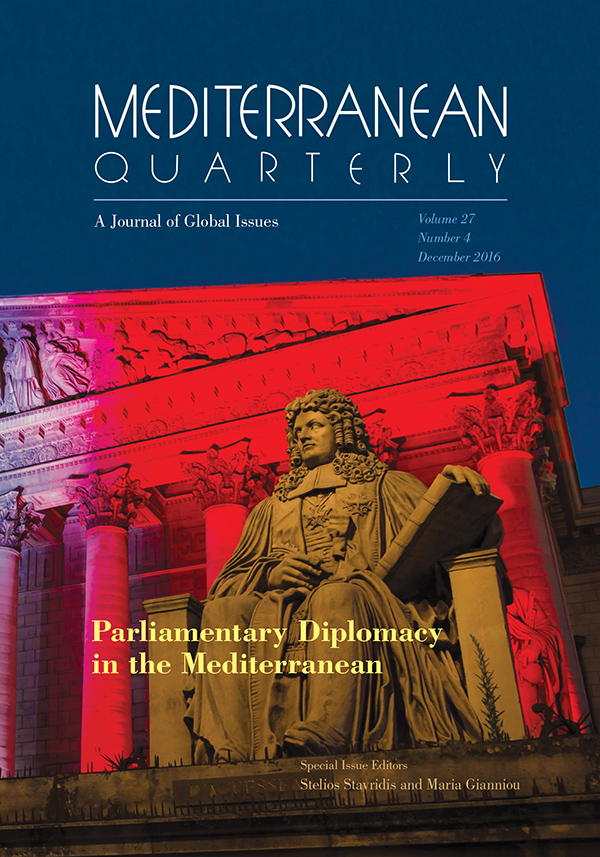 Parliamentary Diplomacy in the Mediterranean
