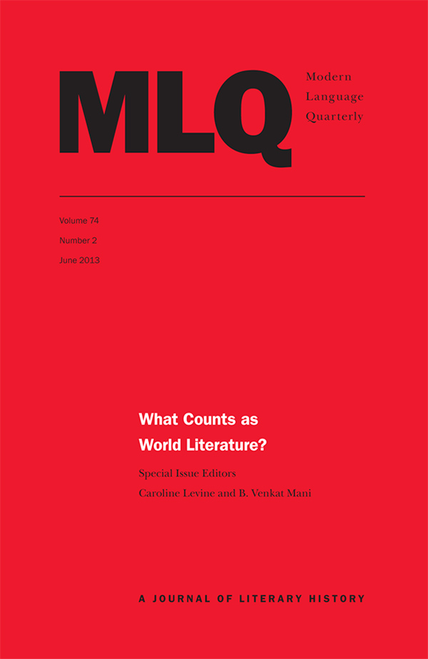 What Counts as World Literature?742