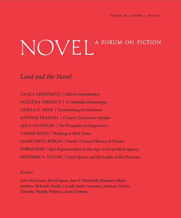 Land and the Novel