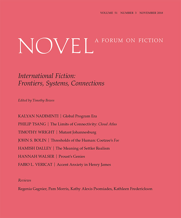 Fiction International 45: About Seeing