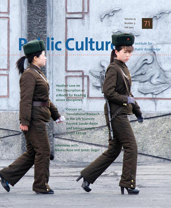 Public Culture 25:3 (71)