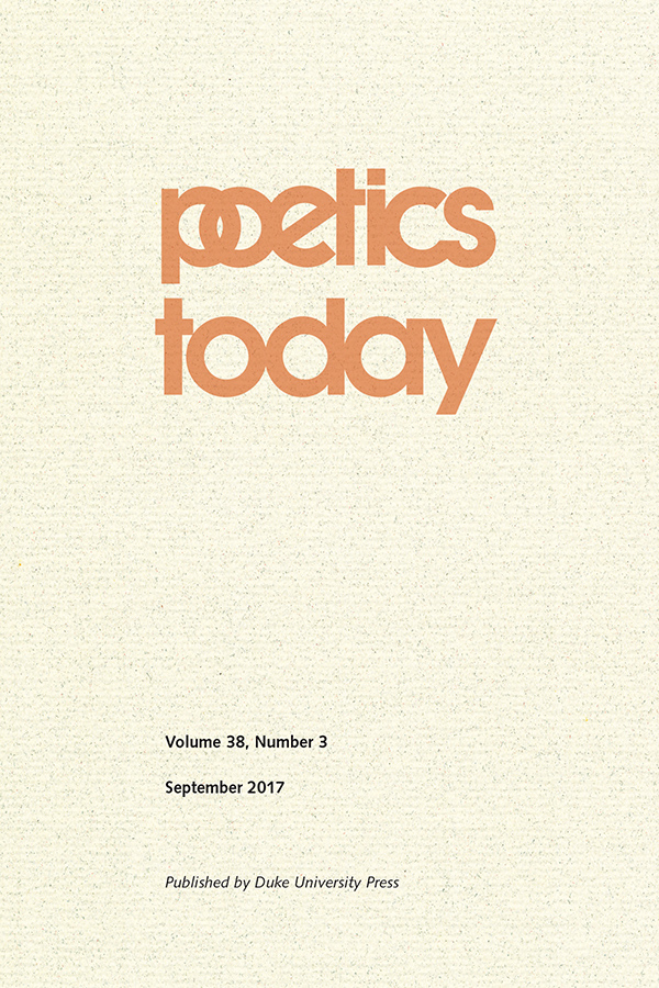 Historical Poetics in Theory