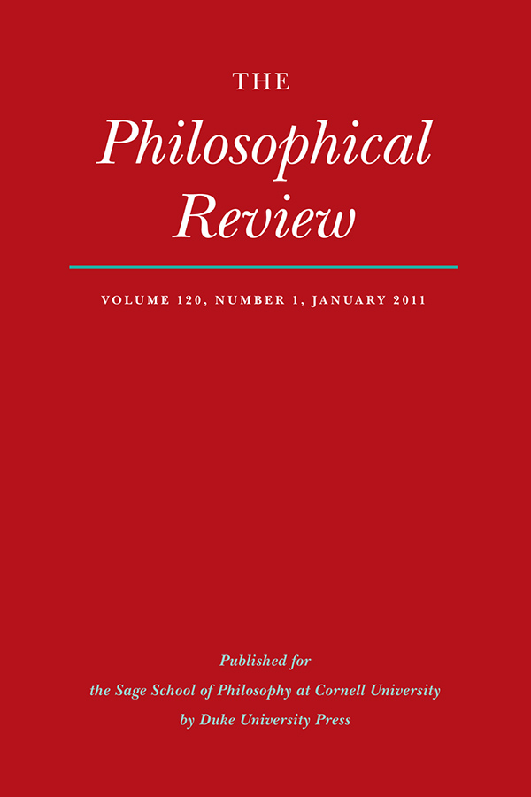 The Philosophical Review 120:11201