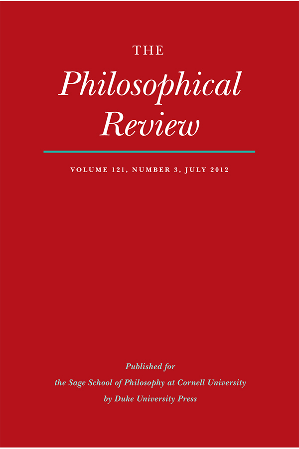 The Philosophical Review 121:31213