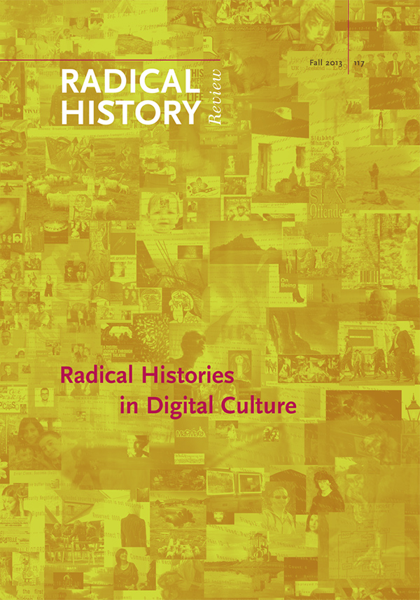 Radical Histories in Digital Culture133