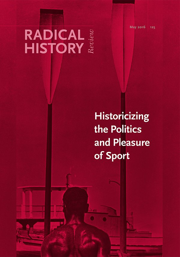 Historicizing the Politics and Pleasure of Sport162
