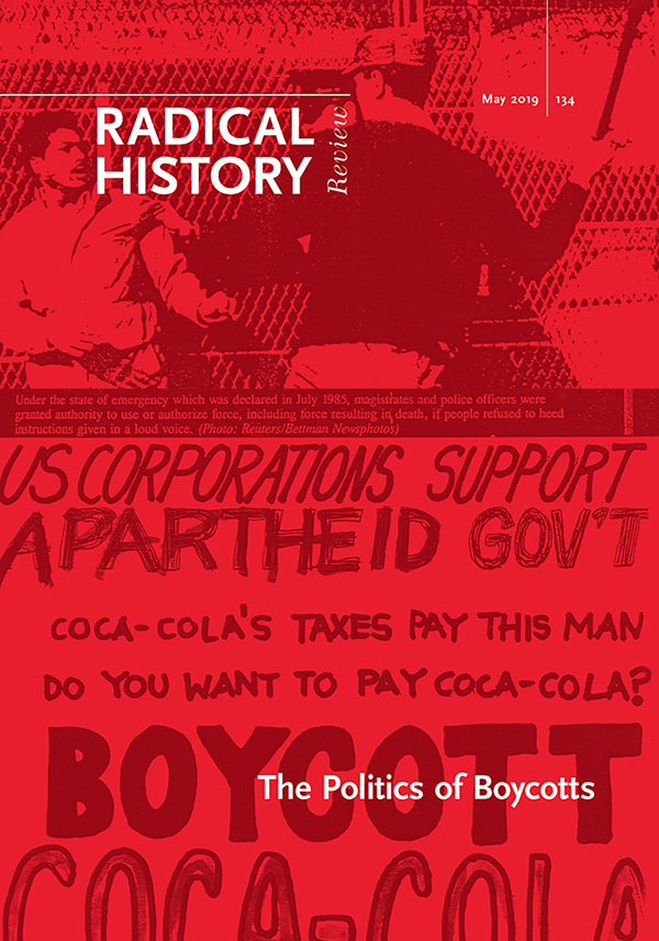 The Politics of Boycotts192