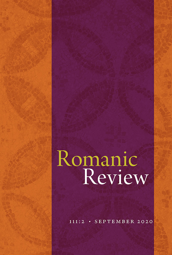 Romanic Review 111:21112