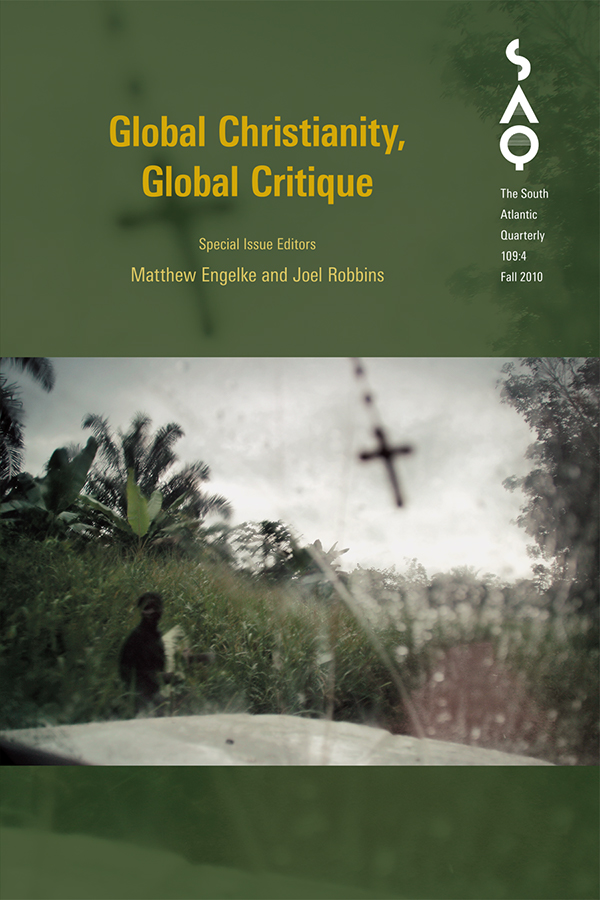 Global Christianity, Global Critique1094