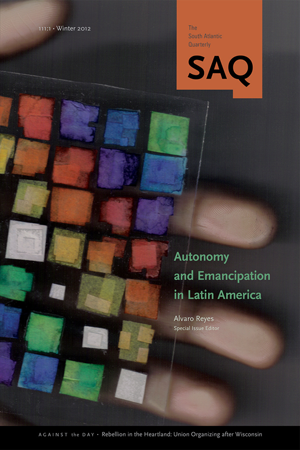 Autonomy and Emancipation in Latin America1111