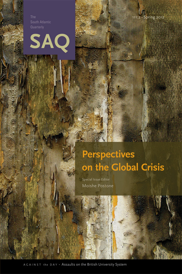 Perspectives on the Global Crisis1112
