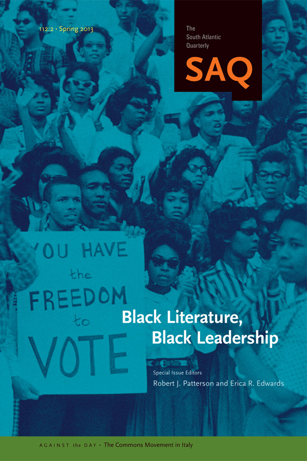 Black Literature, Black Leadership