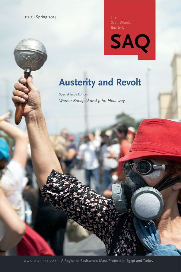 Austerity and Revolt