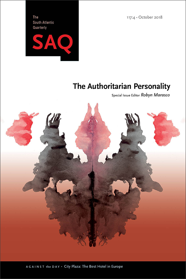 The Authoritarian Personality1174