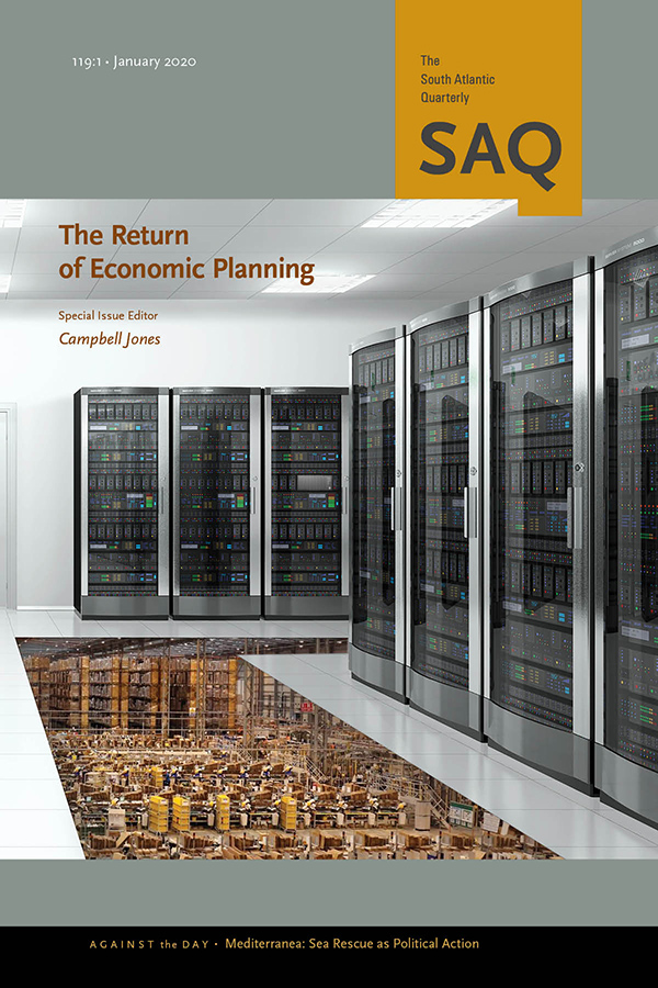 The Return of Economic Planning1191