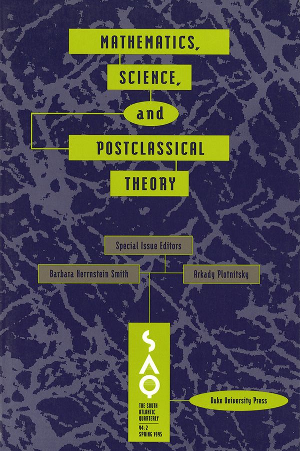 Mathematics, Science, and POSt-Classical Theory942