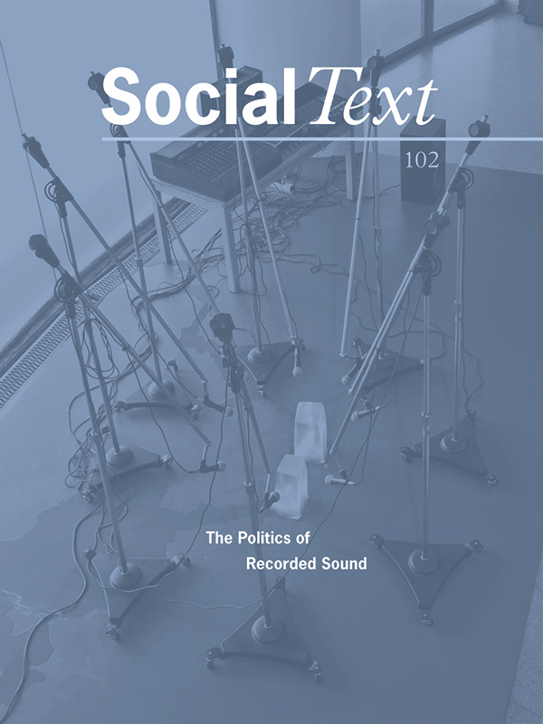 The Politics of Recorded Sound281