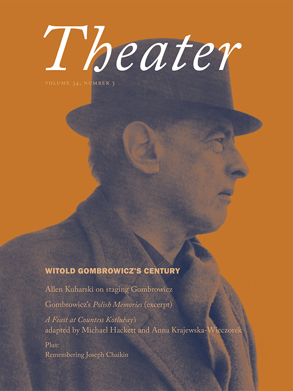 Witold Gombrowicz's Century