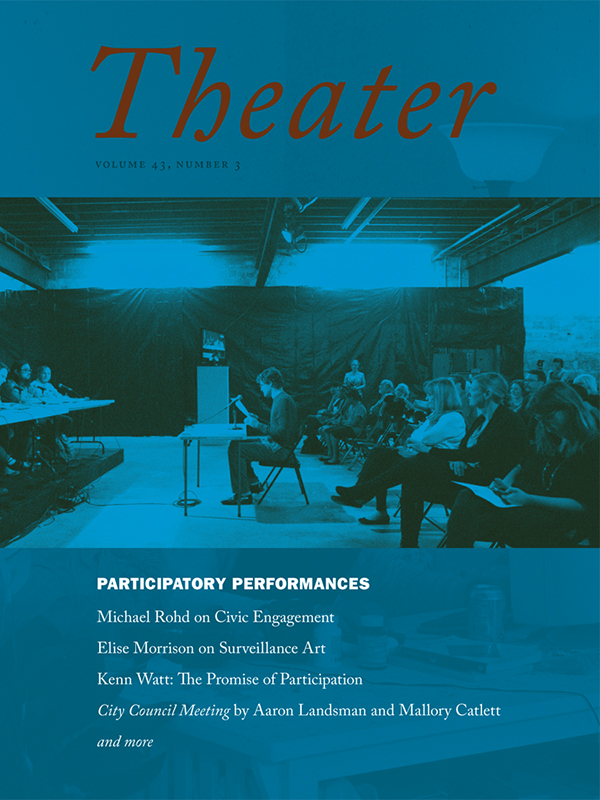 Participatory Performances