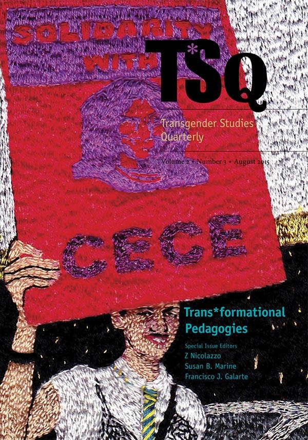 Resultado de imagen de TSQ: Transgender Studies Quarterly