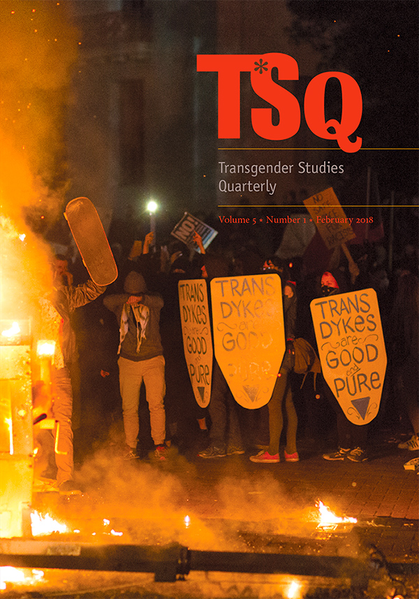 TSQ: Transgender Studies Quarterly 5:1