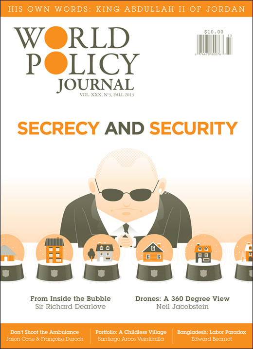 Cover of World Policy Journal 30:3