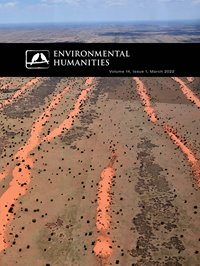 Cover of Environmental Humanities