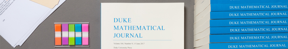 Duke Mathematical Journal and DMJ 100 (The Archive)